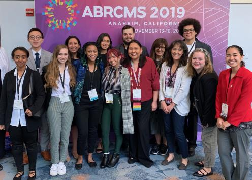 Group Picture of 2019 ABRCMS conference attendees